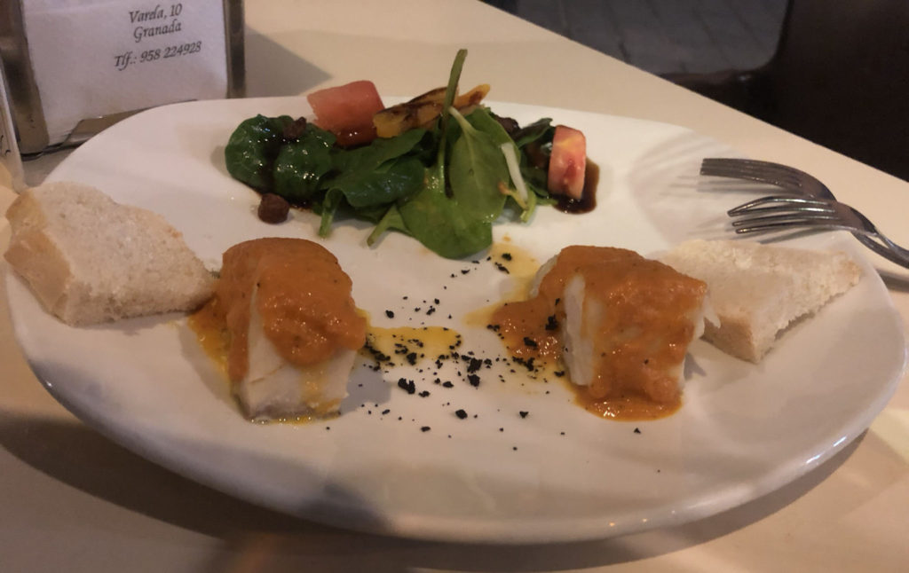 Cod Loin Tapas for two