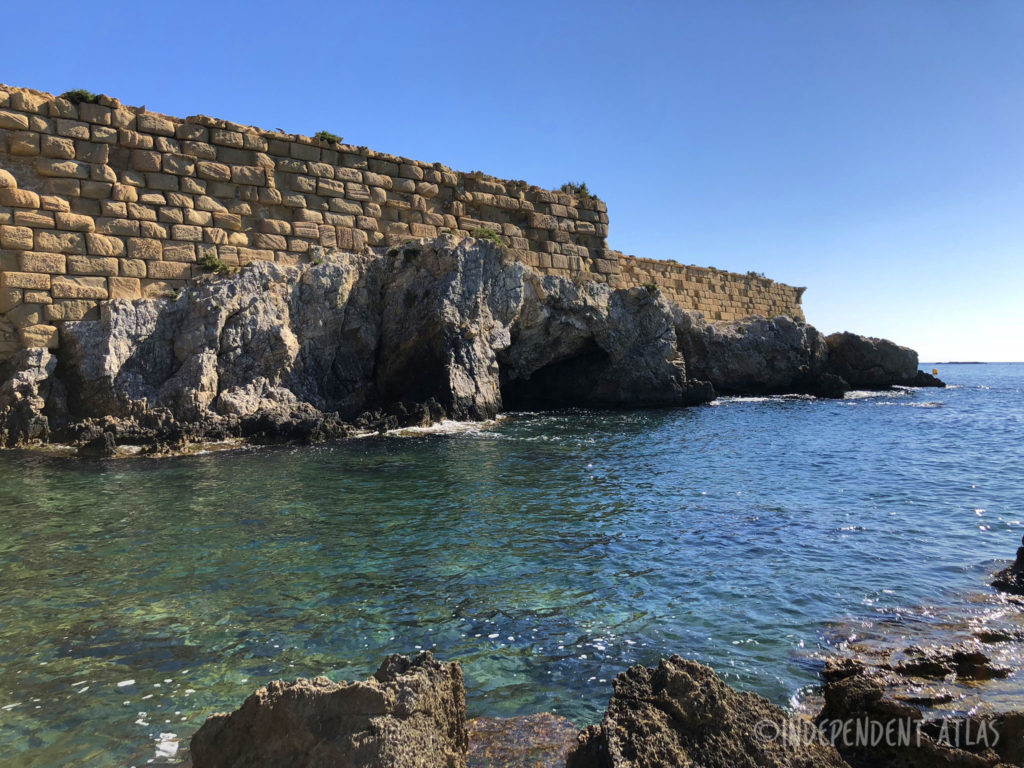 pirate cove walls island of tabarca