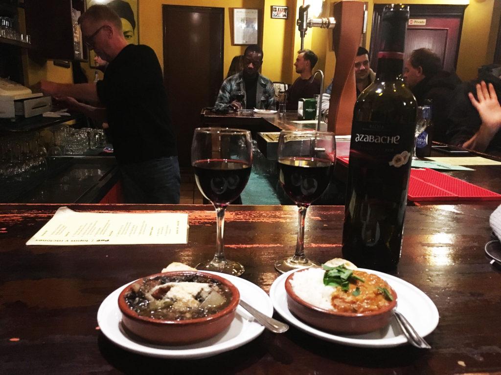 Bar Poë Granada tapas, best tapas bars in Granada