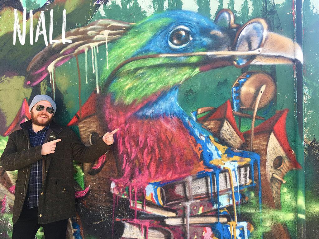 Niall, Independent Atlas, Graffiti
