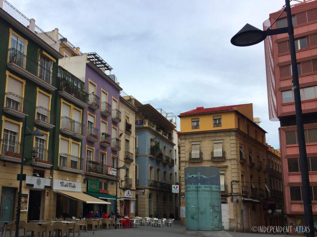 24 hours in alicante, a day in alicante, plaza san cristobal