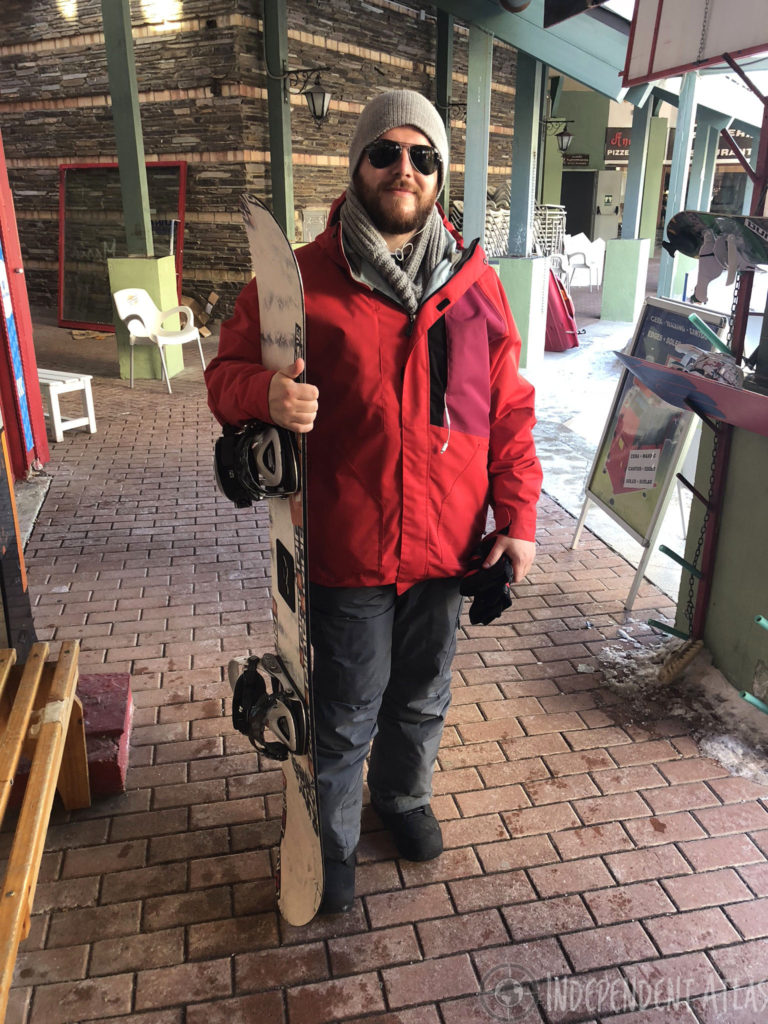 snowboarding in spain, skiing in spain, snowboarding the sierra nevada mountains, ski gear, snowboard