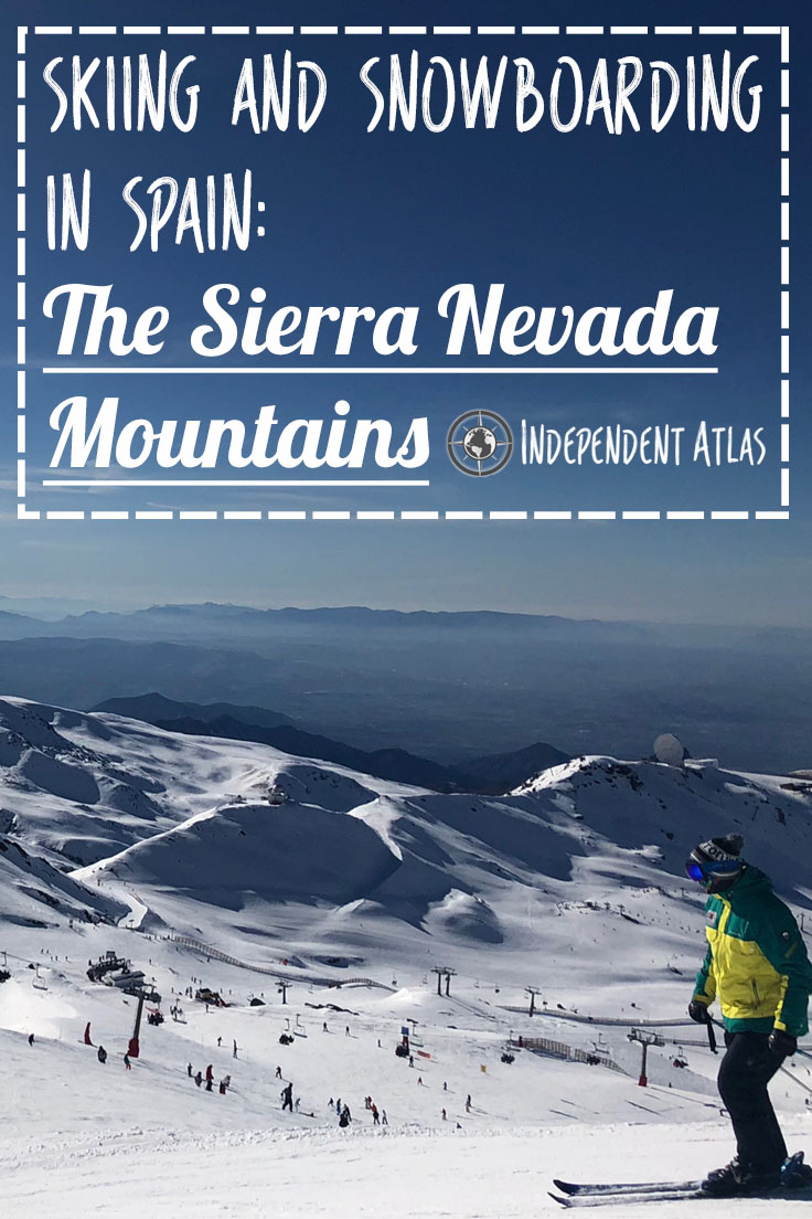 snowboarding in spain the sierra Nevada Mountains Pinterest Pin