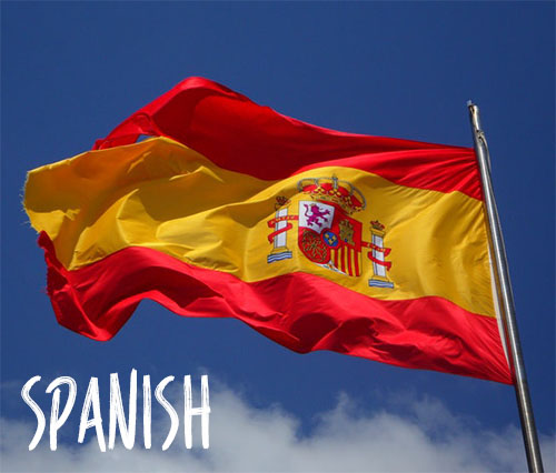 Spanish Language Cheat Sheet Flag
