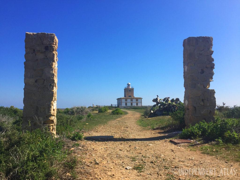 lighthouse, countryside, island of tabarca