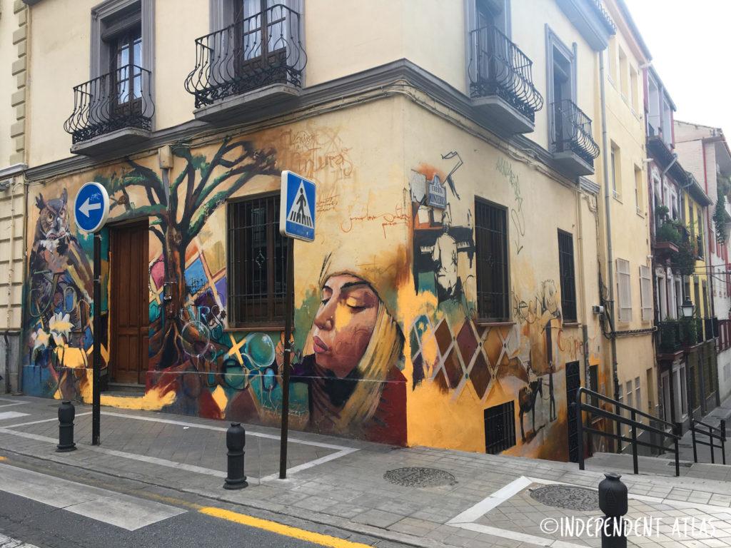 Street art and graffiti tour of granada, spain, el nino house