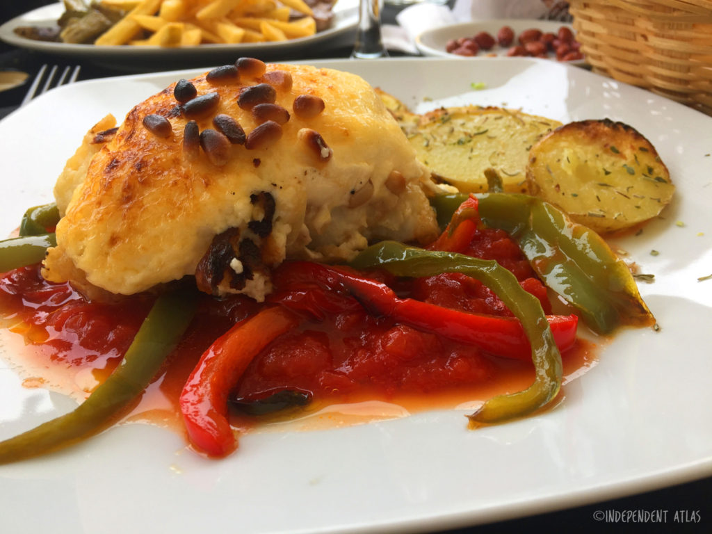 24 hours in alicante, a day in alicante, baked cod and peppers