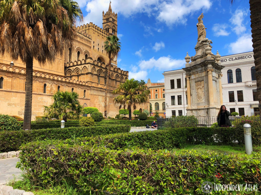 Good Friday in Palermo, Cathedral, Easter, Catholic, Arabic, Gothic, Architecture