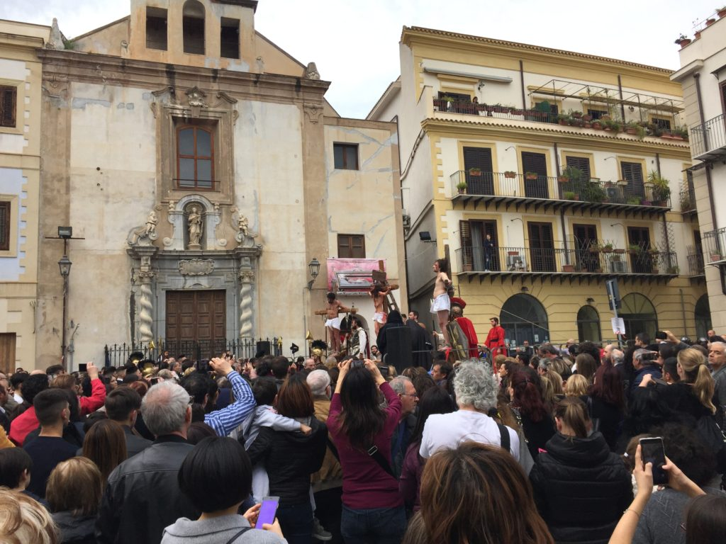 Good Friday in Palermo, The Passion of the Christ, re-enactment, Easter,