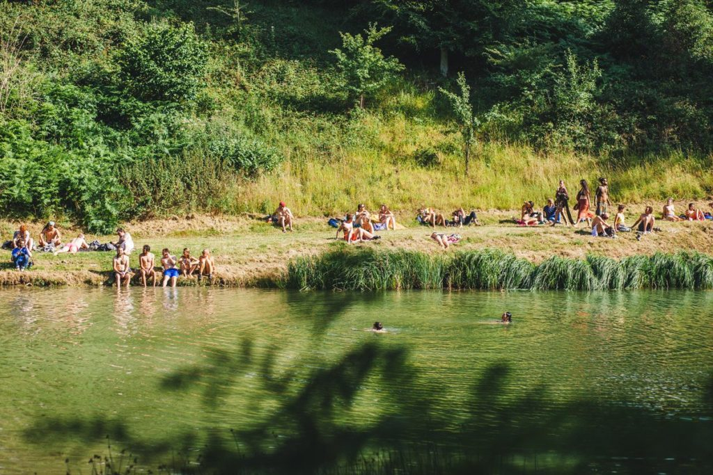Wilderness Festival, Festivals on a budget, Wild swimming at Lake Majestic