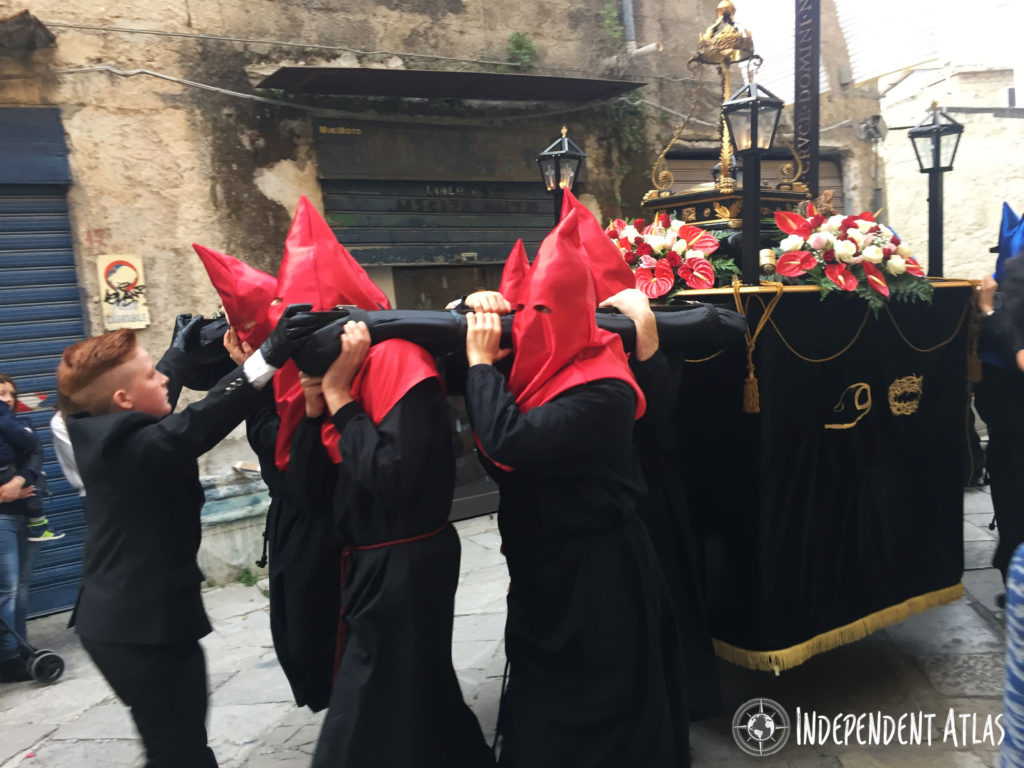 Good Friday in Palermo, procession, Easter, Catholic