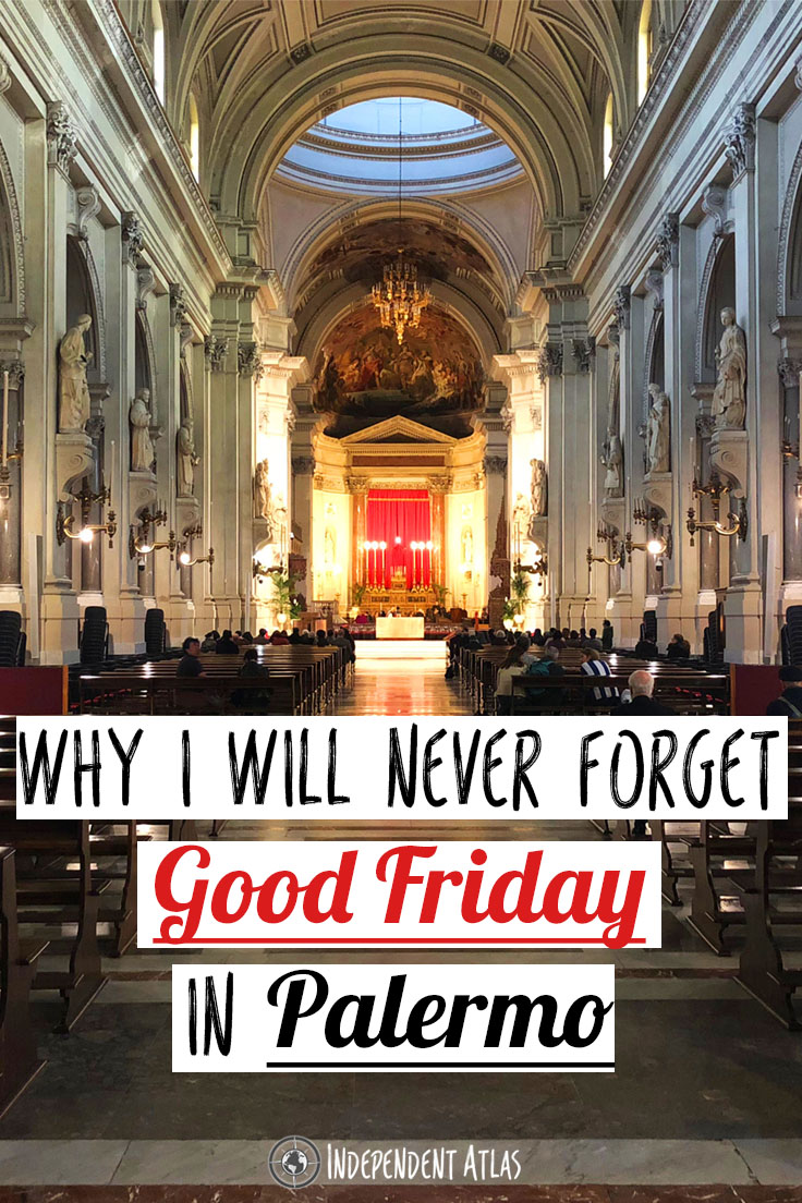 Good Friday in Palermo Pinterest Pin