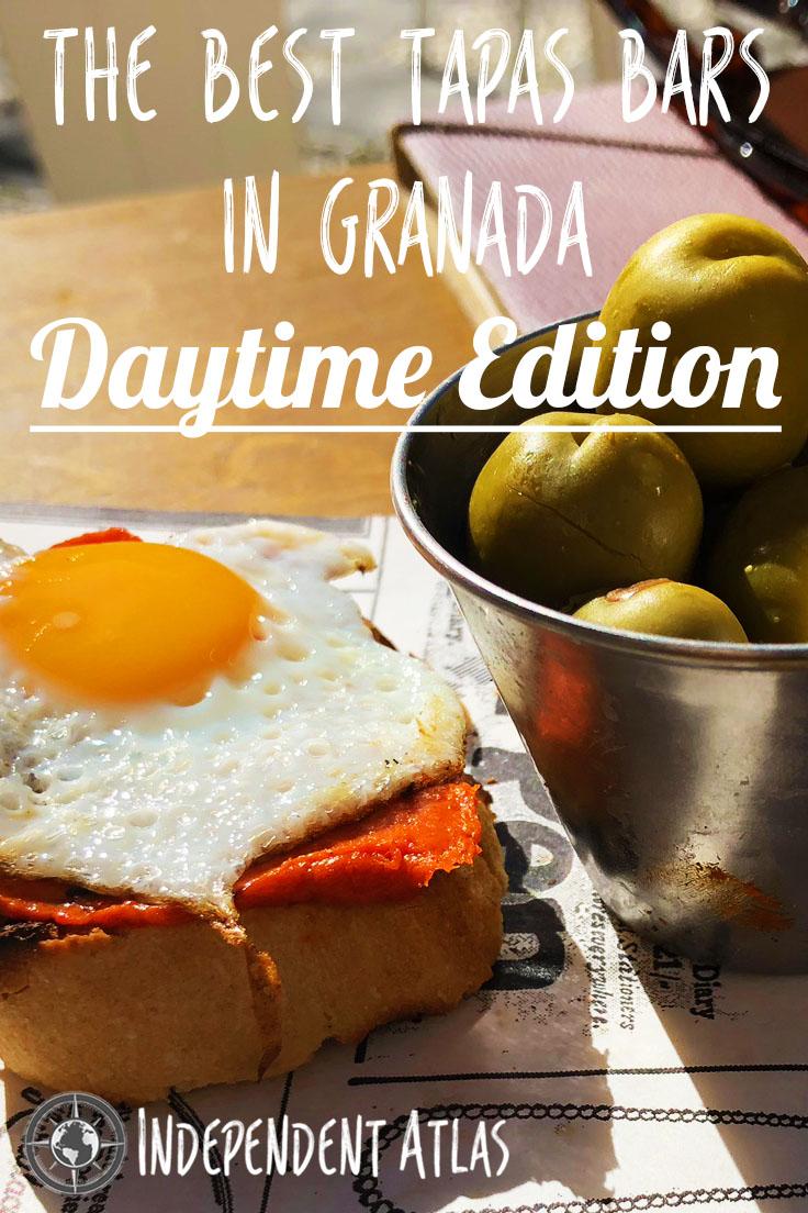 Best Tapas bars in granada daytime edition Pinterest Pin