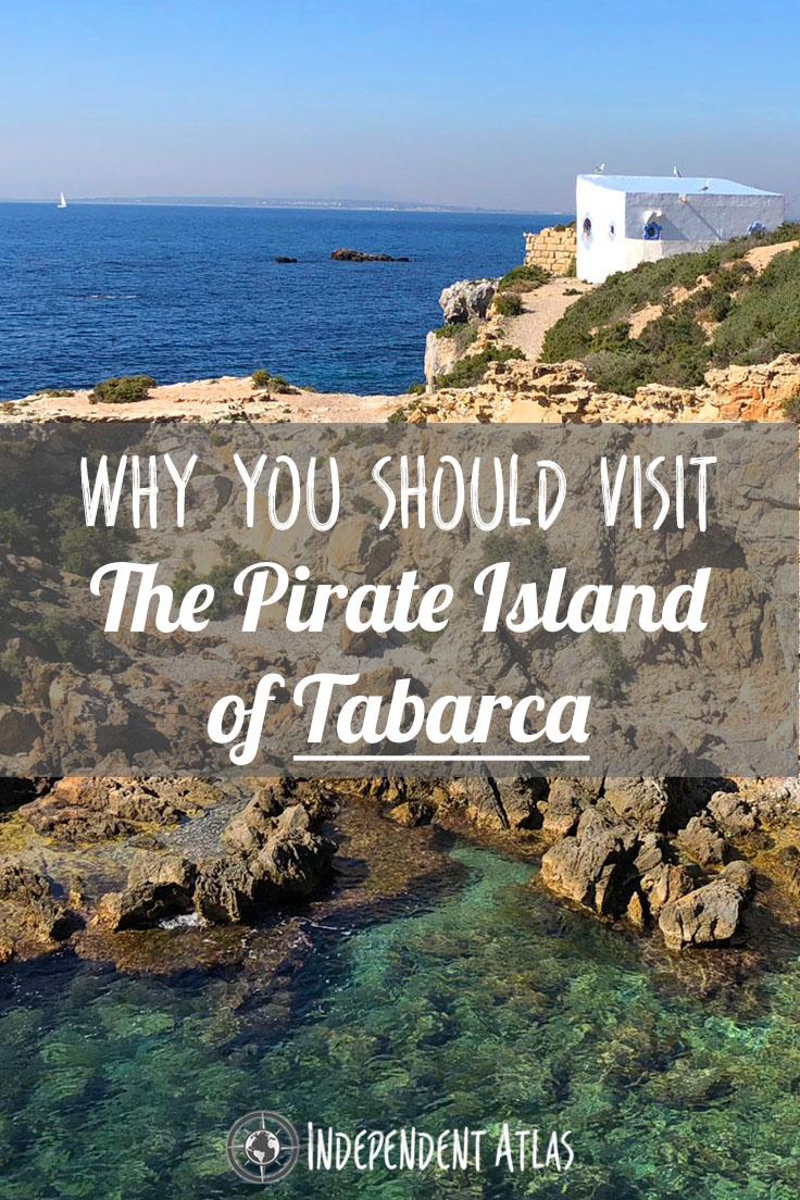 Pirate island of Tabarca Pinterest Pin